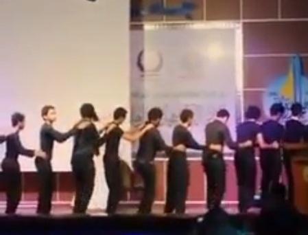 جامعة جازان - رقصة البطريق