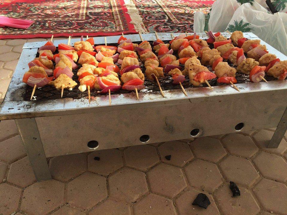 جامعة طيبة تُنظم حفل شواء لمنسوباتها (10)