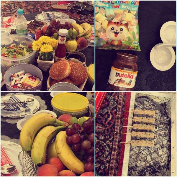 جامعة طيبة تُنظم حفل شواء لمنسوباتها (12)