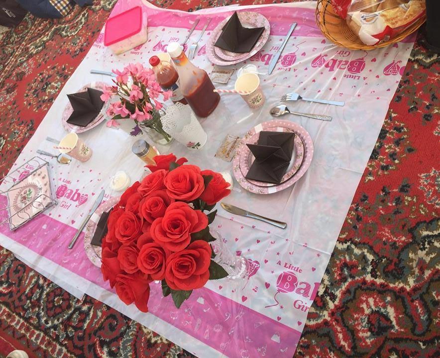 جامعة طيبة تُنظم حفل شواء لمنسوباتها (2)
