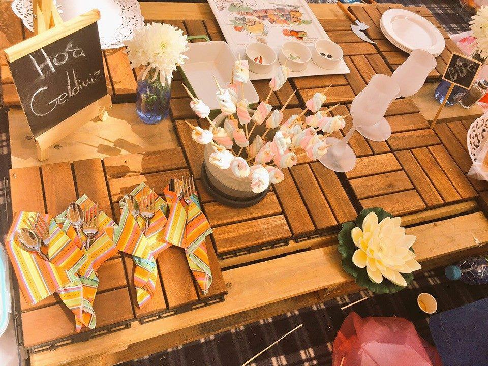 جامعة طيبة تُنظم حفل شواء لمنسوباتها (8)
