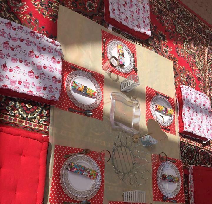 جامعة طيبة تُنظم حفل شواء لمنسوباتها (9)