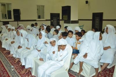 جامع المانع يكرم طلبة حلقات التحفيظ (1)