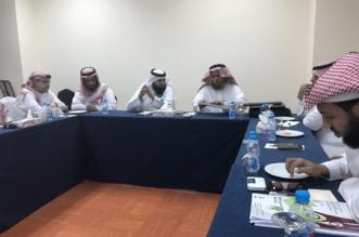 جانب من اجتماع اللجنة المنظمة للقاء