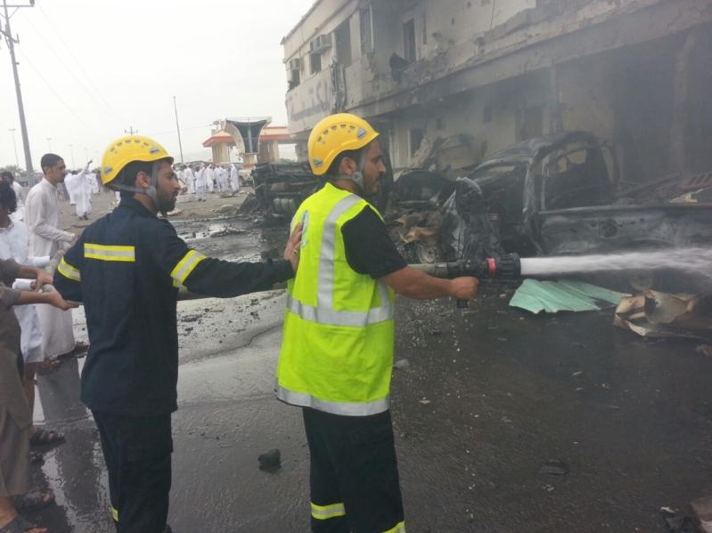 استشهاد مواطن وإصابة ستة مقيمين جراء مقذوف حوثي على نجران