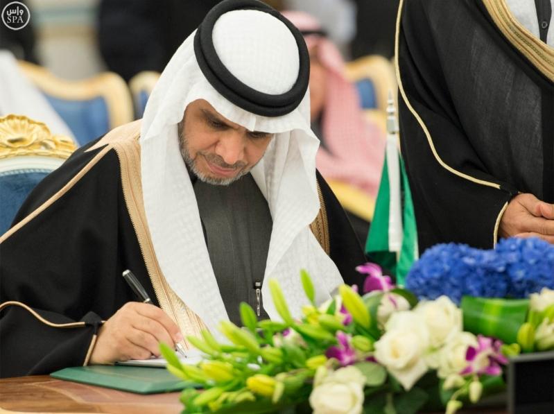 جانب من توقيع تسع اتفاقيات ومذكرات تفاهم 10