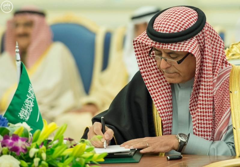 جانب من توقيع تسع اتفاقيات ومذكرات تفاهم 11