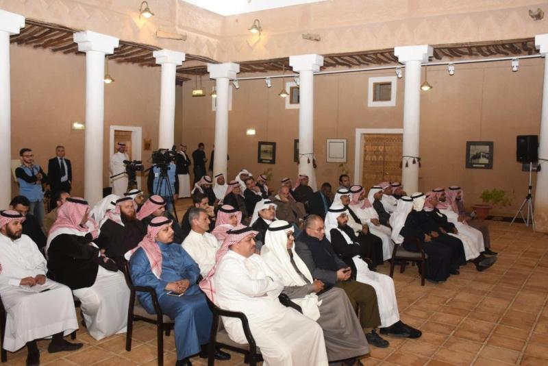 جانب من حضور محاضرة برنامج تطوير وتأهيل الدرعية التاريخية