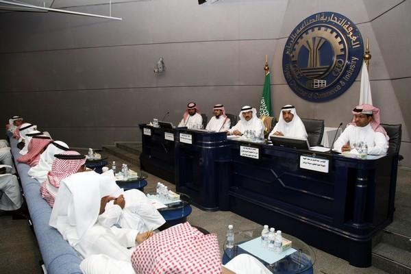 جانب من لقاء هيئة تطوير الرياض مع أعضاء اللجنة العقارية بغرفة الرياض