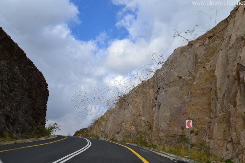 جبال #ثقيف ومروجها تصنع لوحة خلابة (9)
