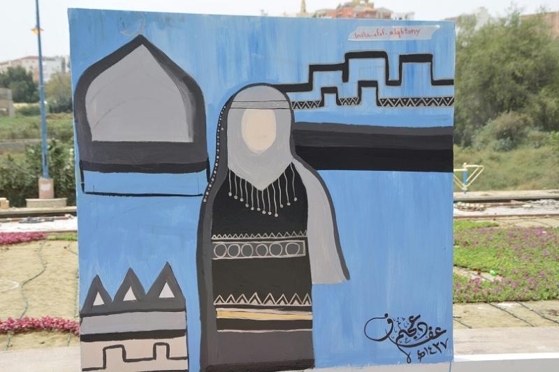 جداريات شارع الفن ابها (8)