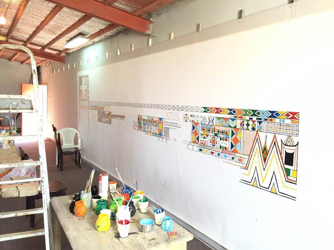 جدارية القط 2