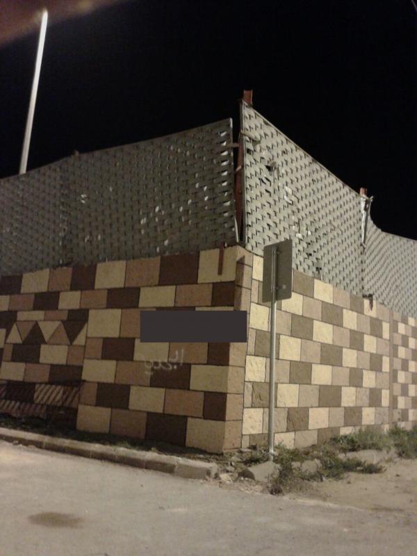 جدار المجاردة المنهار
