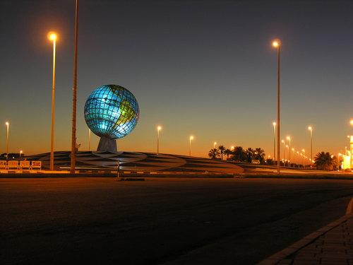 جدة - دوار الكرة الارضية