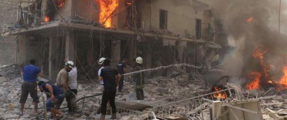 جرائم بشار في حلب