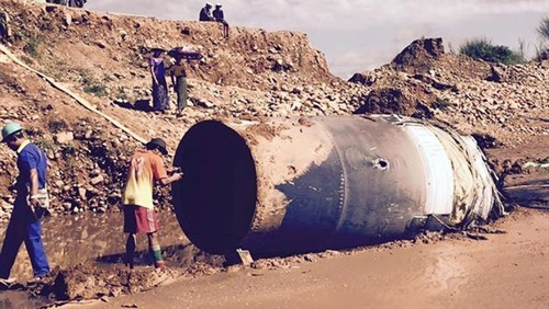 جسم غامض يسقط من السماء ويتسبب في اهتزاز المنازل في ميانمار