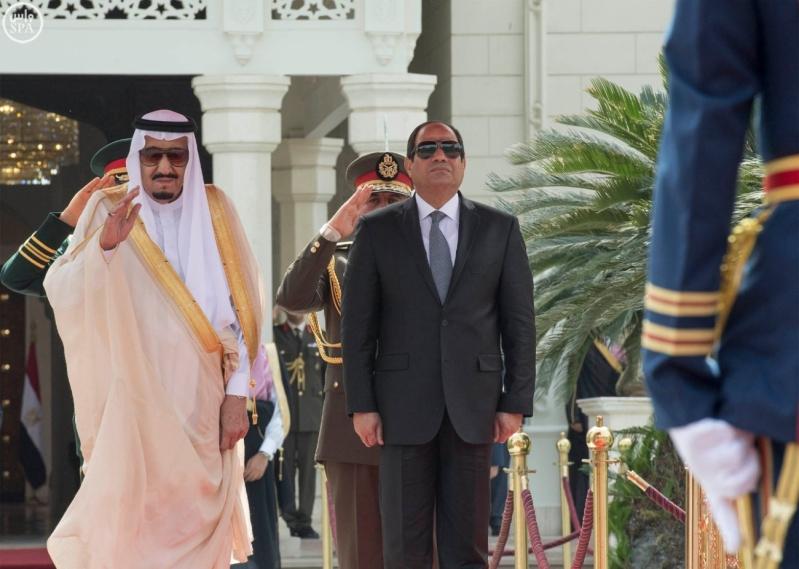 الملك سلمان والسيسي