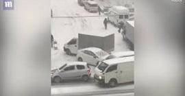 جليد روسيا