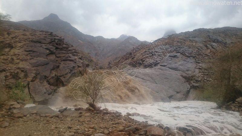جمال طبيعة #وادي_العرج عقب الأمطار الغزيرة (1)