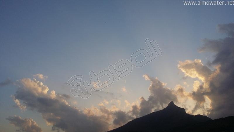 جمال طبيعة #وادي_العرج عقب الأمطار الغزيرة (3)