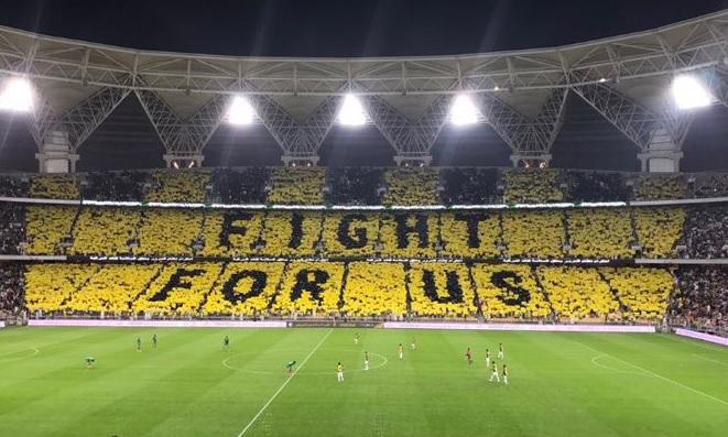 نتيجة بحث الصور عن تيفو fight for us