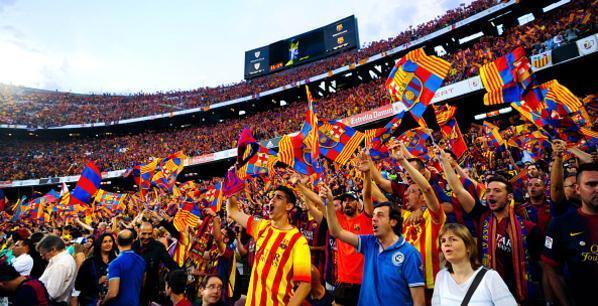 جماهير-برشلونة
