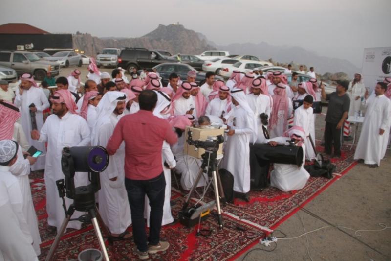 جمعية آفاق لعلوم الفضاء ترصد هلال رمضان المبارك (69510207) 