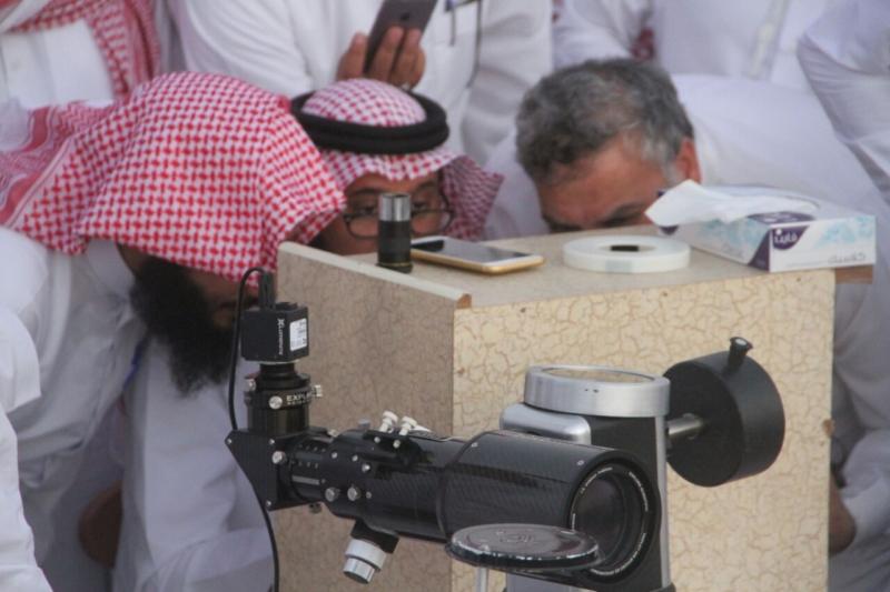 جمعية آفاق لعلوم الفضاء ترصد هلال رمضان المبارك (69510209) 