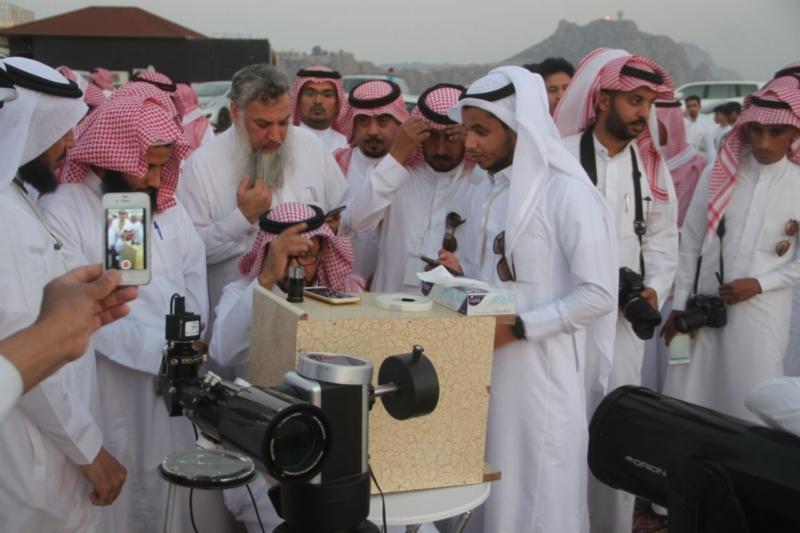 جمعية آفاق لعلوم الفضاء ترصد هلال رمضان المبارك (69510210) 