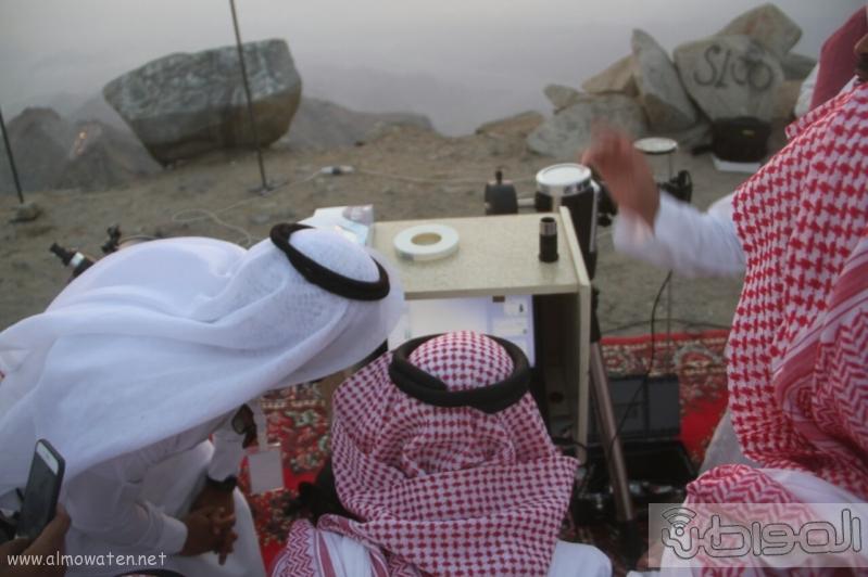 جمعية آفاق لعلوم الفضاء ترصد هلال رمضان المبارك  (69510211) 