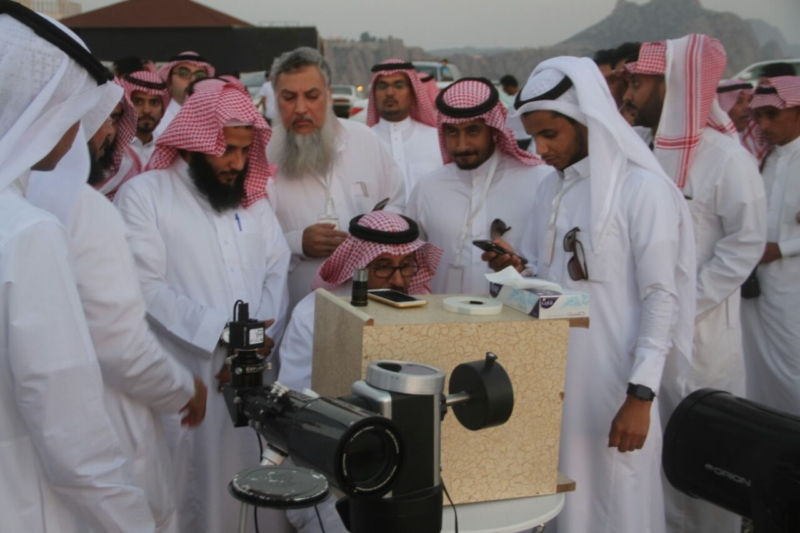 جمعية آفاق لعلوم الفضاء ترصد هلال رمضان المبارك (69510212) 