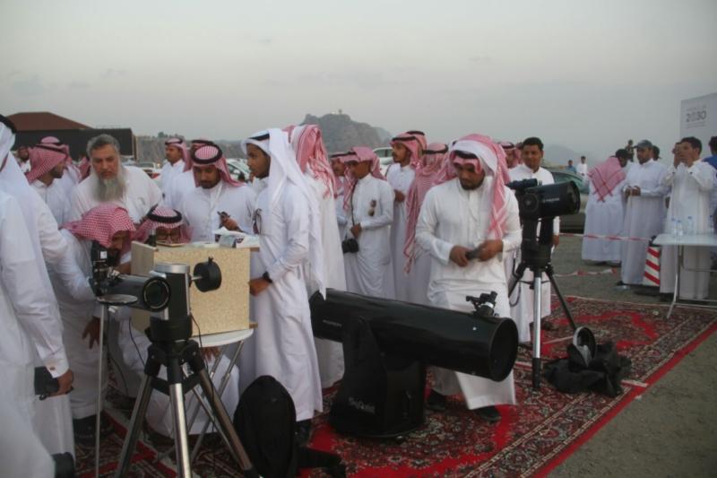 جمعية آفاق لعلوم الفضاء ترصد هلال رمضان المبارك (69510214) 