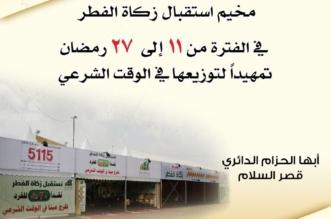 بدء العمل بمخيم جمعية البر بأبها لاستقبال زكاة الفطر - المواطن