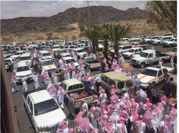 جنازة الجندي أول ظافر محمد صوفان1