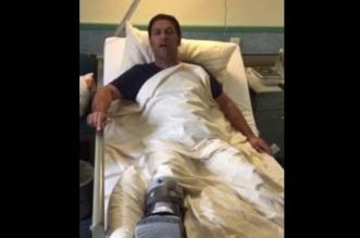 بالفيديو .. جندي مصاب يفاجأ بإغلاق ملفه قبل انتهاء علاجه في ألمانيا - المواطن