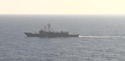 جهود القوات البحرية والجوية فى البحث عن الطائرة المفقودة