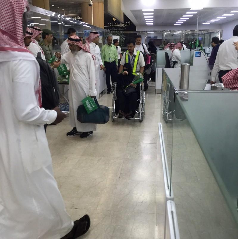 جوازات مطار الملك خالد  (11)