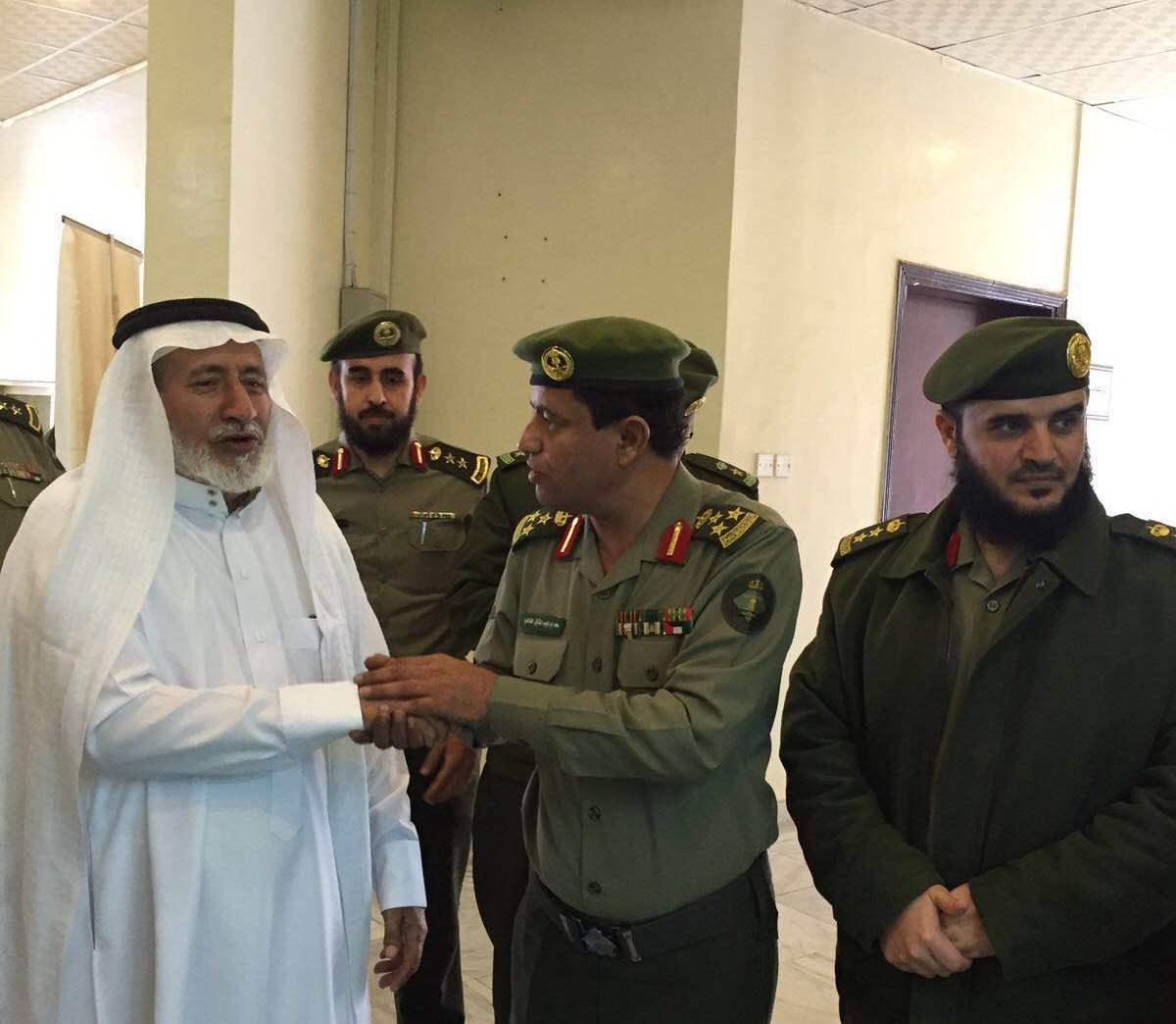جوازات منطقة عسير تفتتح مكتب لخدمة ذوي شهداء الواجب (2)