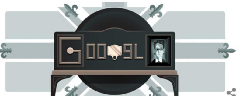 جوجل يضع صورة جون بيرد للاحتفال بأول بثّ تلفزيوني