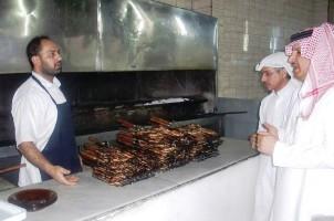 جولات رقابية مكثفة على مطاعم وبوفيهات نجران