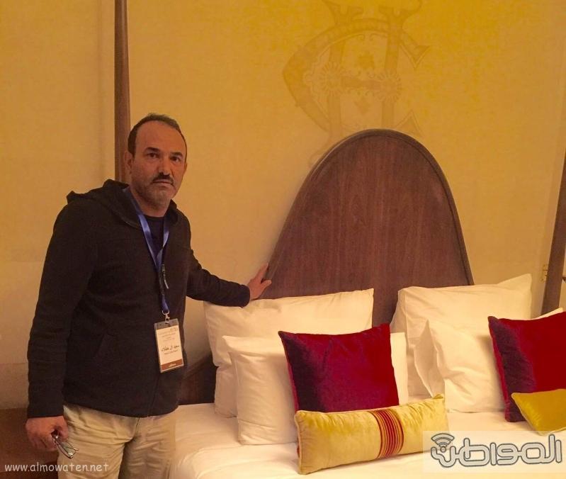 جولة الاعلام السياحي بقصر الملك فاروق باسوان (11)