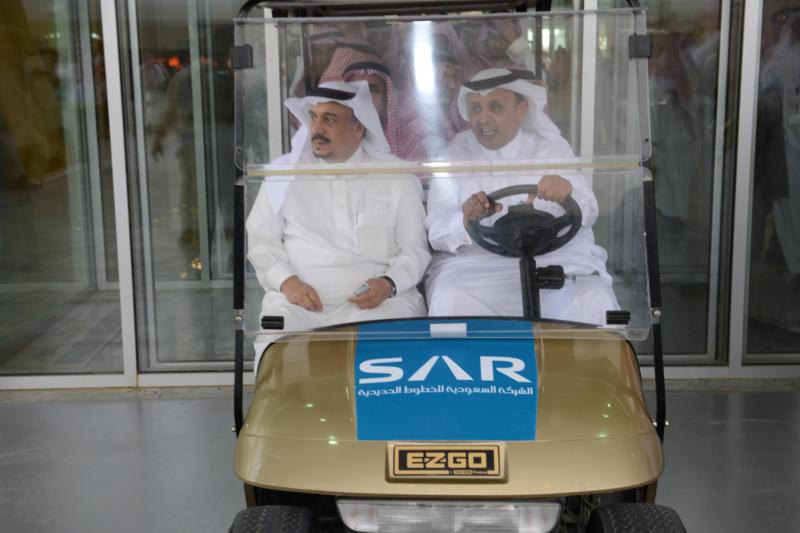 جولة امير الرياض قطار سار10