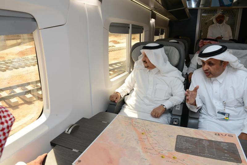 جولة امير الرياض قطار سار13