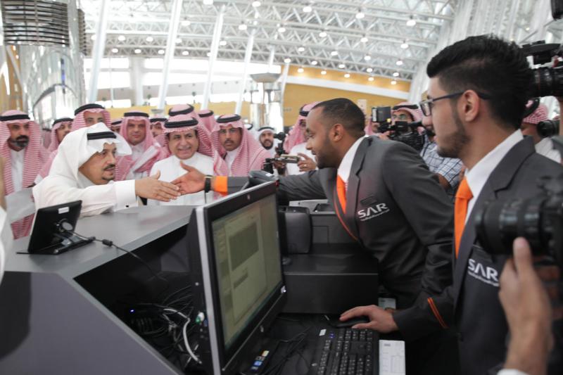 جولة امير الرياض قطار سار4