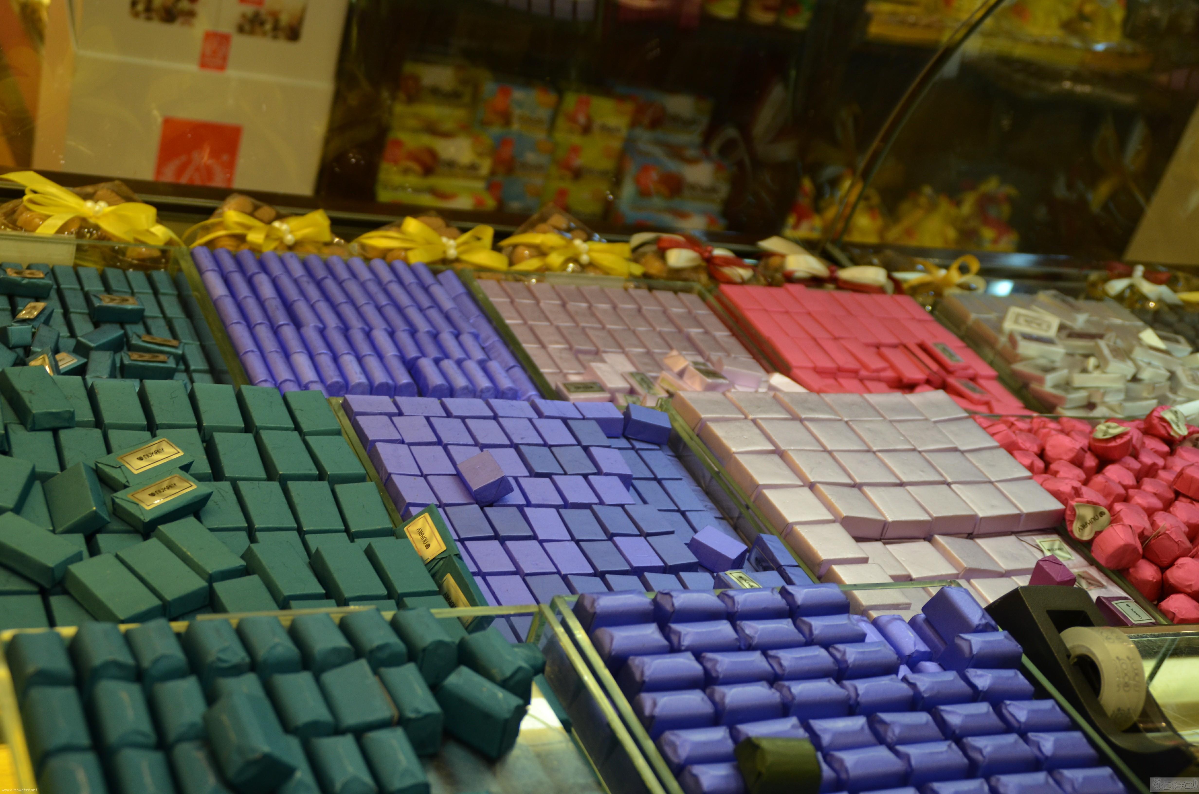 جولة باسواق الحلويات والتمور في جدة قبل العيد (4)