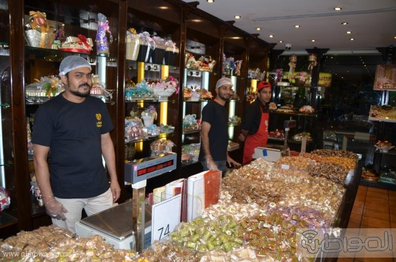 جولة باسواق الحلويات والتمور في جدة قبل العيد (6)