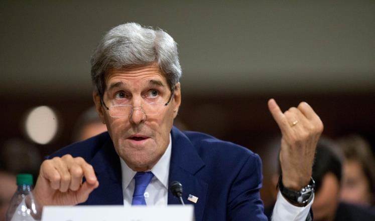 كيري يعترف بجرائم الملالي.. إيران استخدمت أموال النووي لدعم الإرھاب