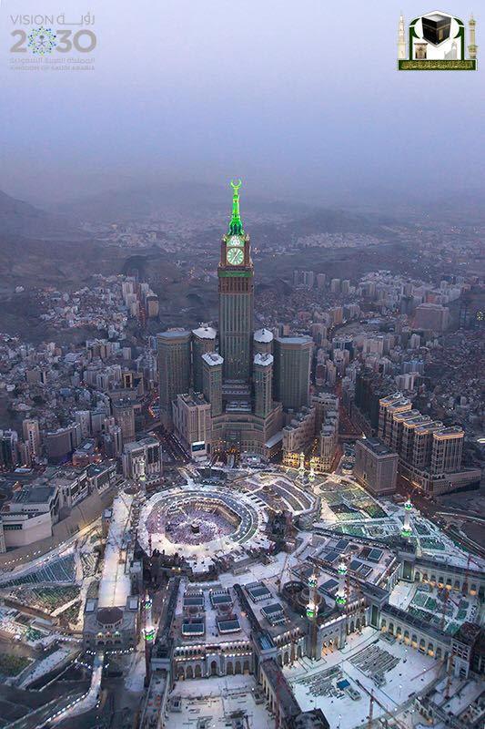 جوية للمسجد الحرام 1