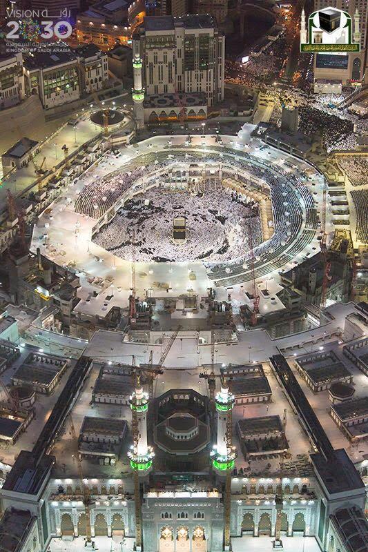 جوية للمسجد الحرام 10