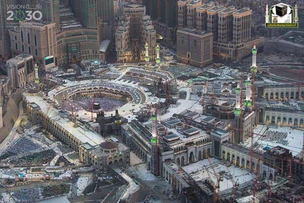 جوية للمسجد الحرام 11